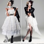 Fall fashion main trends lace and leather grunge to glam