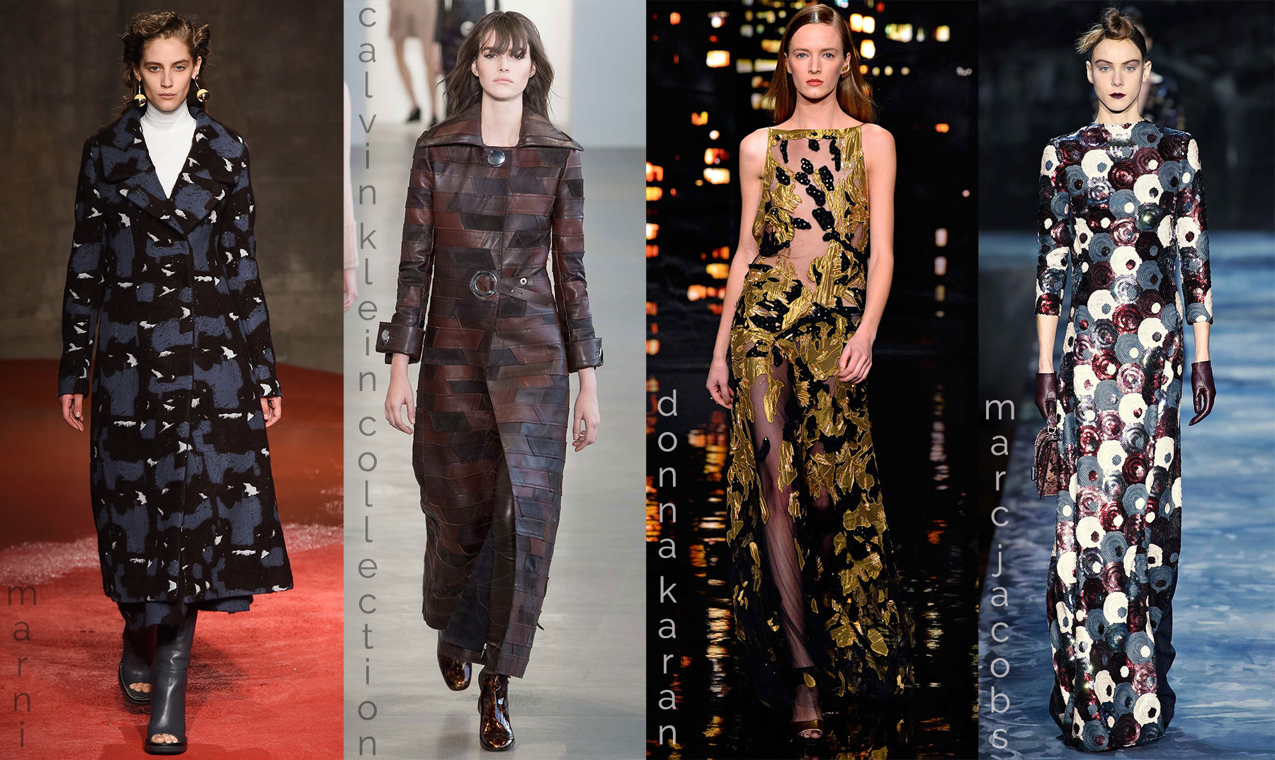 fall fashion trends military camouflage catwalk