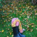 fall style wellies scarf