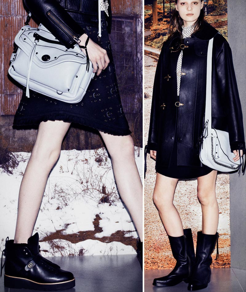 Fall Winter 2014 boots white bags Coach