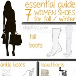fall winter footwear guide for women