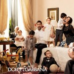 family Dolce Gabbana Spring Summer 2014 ad campaign
