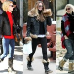 famous stars wearing Sorel snow boots
