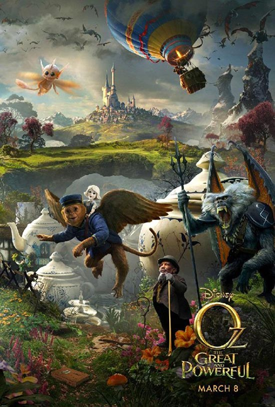 fantastic Oz the Great movie