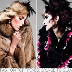 Fashion for Fall trends glam to grunge fur