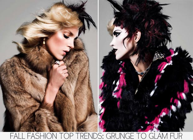 Fall Fashion Top 5 Trends: Grunge To Glam Anja Rubik, Vogue Paris