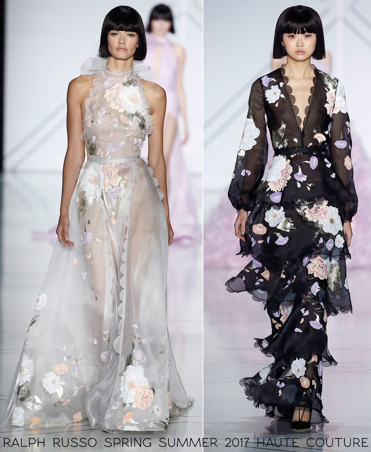 fashion prints Ralph Russo ss17 haute couture