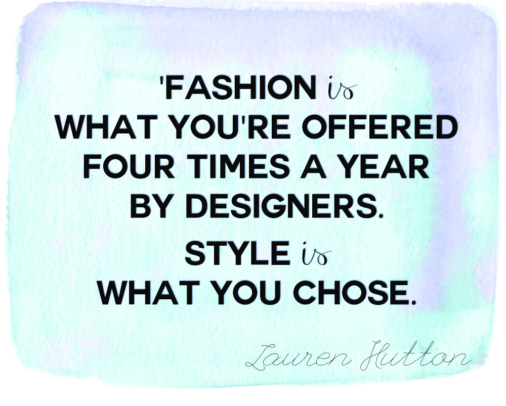 Style Quotes By Designers Quotesgram