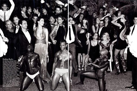 Fashion Rocks by Mario Testino