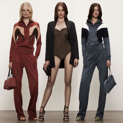 fashion tracksuit Bottega Veneta Resort 2013 collection