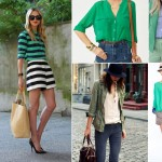 fashionable ways to wear green tops