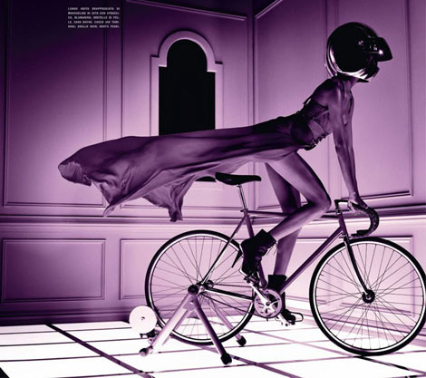 Bike Like A Fashionista!