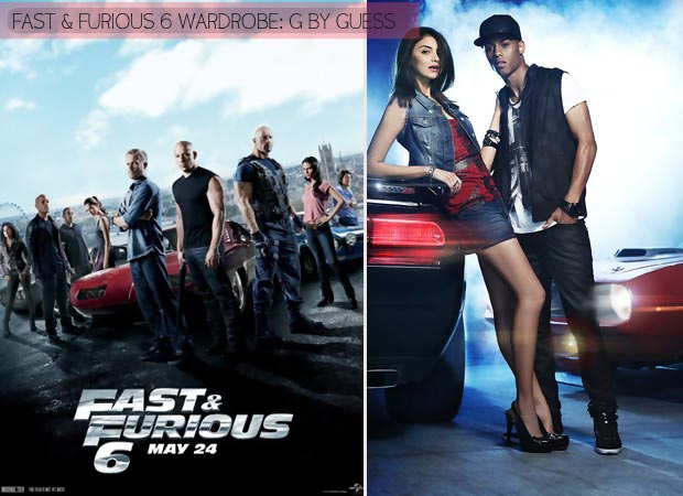 Fast and Furious 6 wardrobe G by Guess