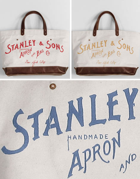 Shopper Obsession: Stanley & Sons Logo Tote