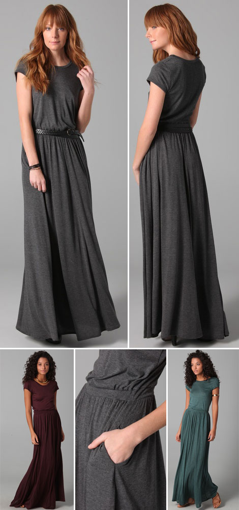 favorite summer dress maxi tee dress