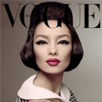 Fei Fei Sun Vogue Italy January 2013 cover