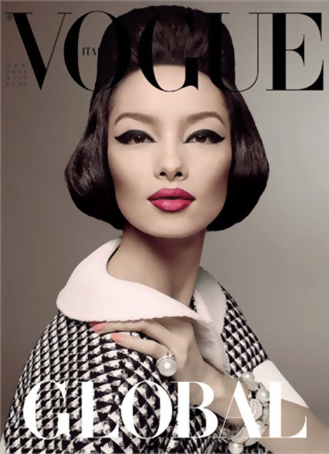 Fei Fei Sun's Amazing Vogue Italia January 2013