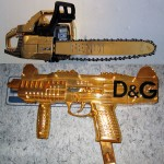 Fendi Chainsaw and D & G Weapon