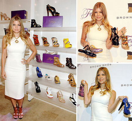 Fergie Brown Shoe Collection