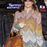 Fergie Marcello de Cartier Brown bag 1
