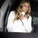 Fergie White Outfit
