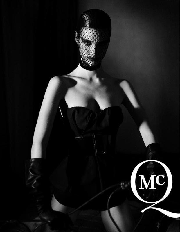 fetish fashion Manon Leloup McQ Spring 2013 campaign