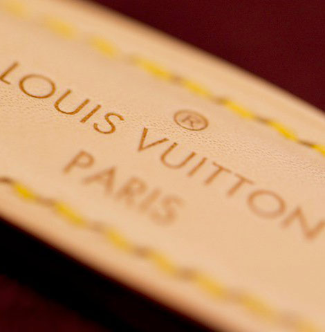 FIFA Golden World Cup Louis Vuitton case label