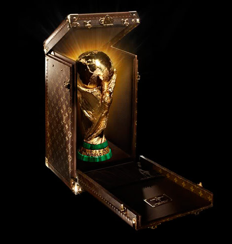 FIFA Golden World Cup Louis Vuitton case