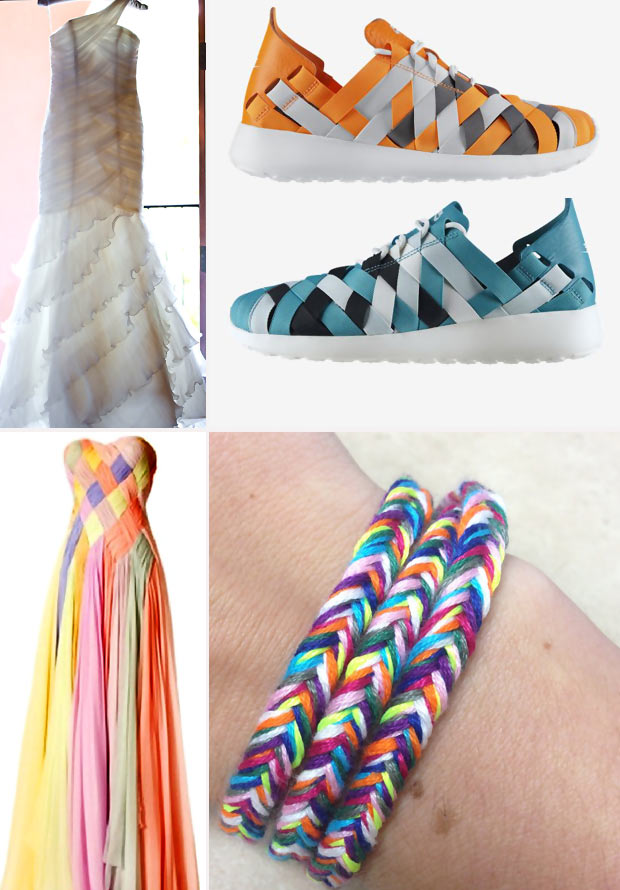 Fishtail Braid dresses jewelry shoes