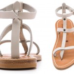 flat strappy sandals for summer