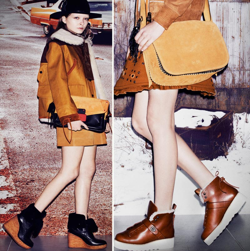 flatforms wedges bags Fall 2014 Coach