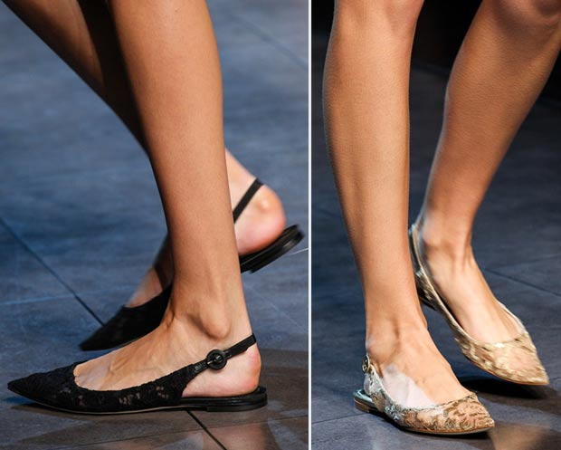 S/S Trend Alert: Flats Forget the heelsflats of all different styles are runway favorites for Spring/Summer