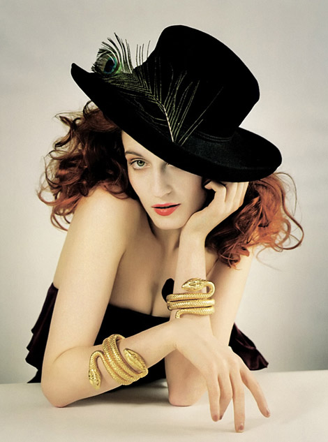 Florence Welch By Tim Walker For Vogue