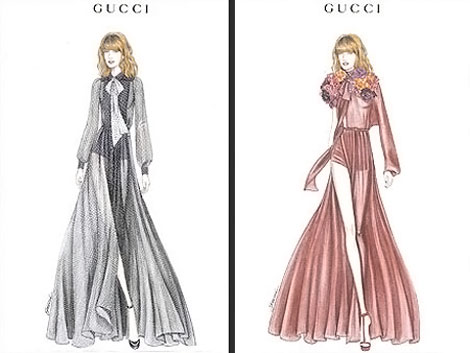 Florence Welch Gucci Stage Costumes