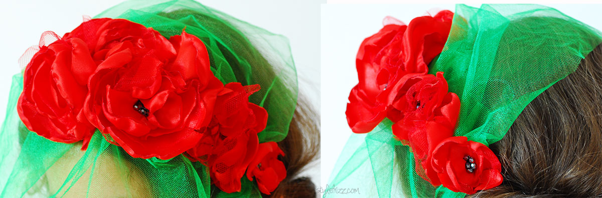 flowers fascinator diy