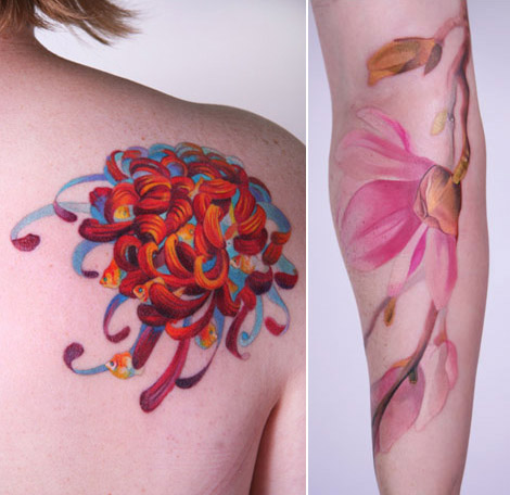 She's not just a tattoo artist, Amanda, oh no! She's a tireless artist,