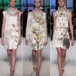 flowery dresses Valentino couture spring summer 2017