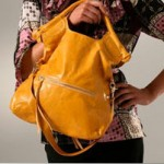 foley corinna glazed mini city tote yellow green flat gojane