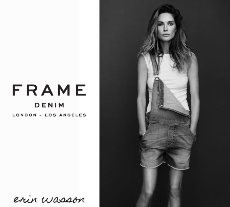 Frame denim 2014 collection lookbook Erin Wasson
