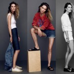 Frame Denim 2014 Erin Wasson lookbook