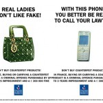 france luxury goods association launched anti counterfeit campaign