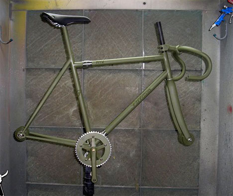 Freeman bicycle frame