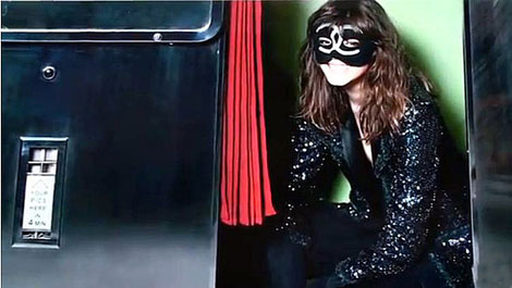 Freja Beha Erichsen Styled By Carine Roitfeld, Chanel FW 2011 2012 Ad Campaign