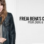 Freja Beha Erichsen collection with Zadig and Voltaire