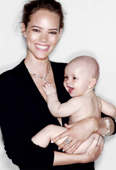 Freja Beha Erichsen's Jewerly Campaigns – Smiling Bright