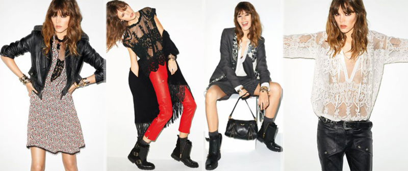Freja Beha Erichsen For Zadig & Voltaire Capsule Collection