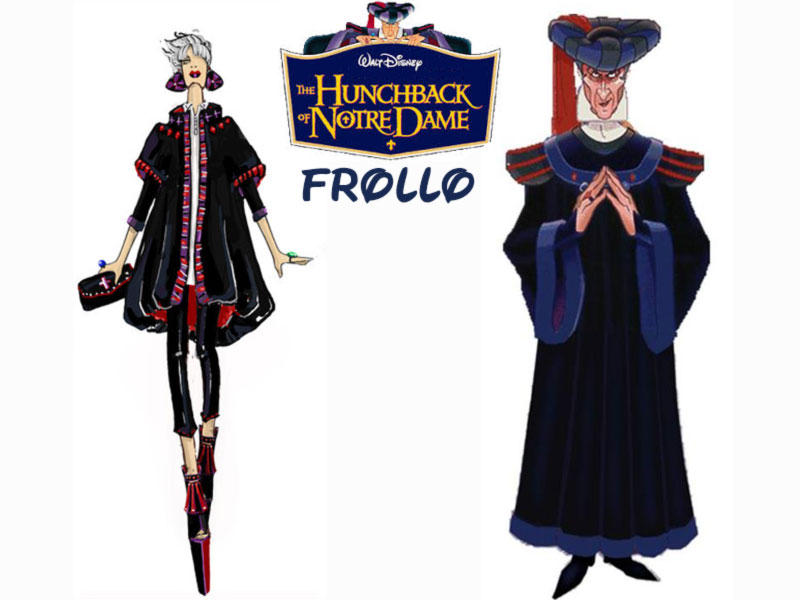 Frollo fashion update Disney Villains Hunchback of Notre Dame