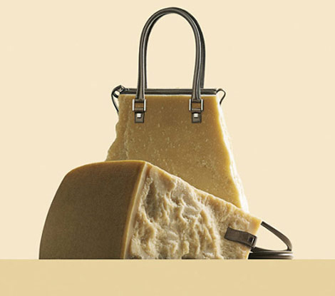 Fulvio Bonavia A Matter of Taste cheese bag