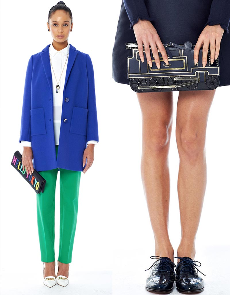 fun clutches Fall 2014 Kate Spade New York