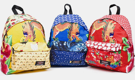 fun colorful eastpak artist studio